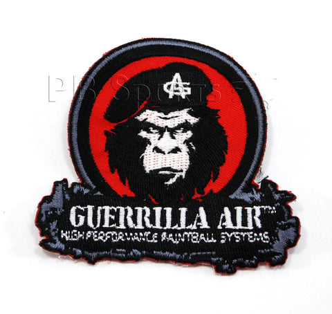 Guerrilla Air Patch - Red/Black - Guerrilla Air