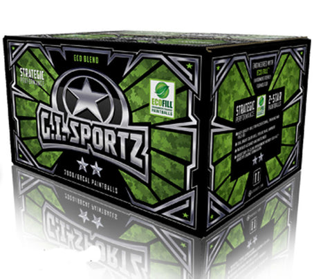 G.I. Sportz 2 Star Paintballs - Yellow Fill