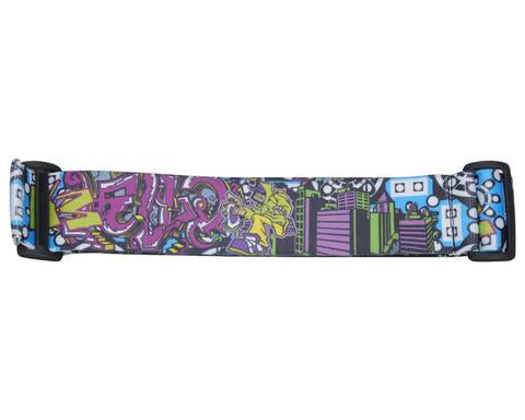 KM Strap - Graffiti Tagger - Blue White