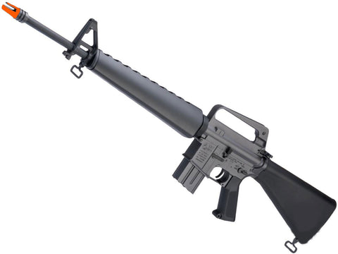 EMG Helios Colt Licensed Historic Vietnam Model M16A1 Airsoft AEG Rifle - Black