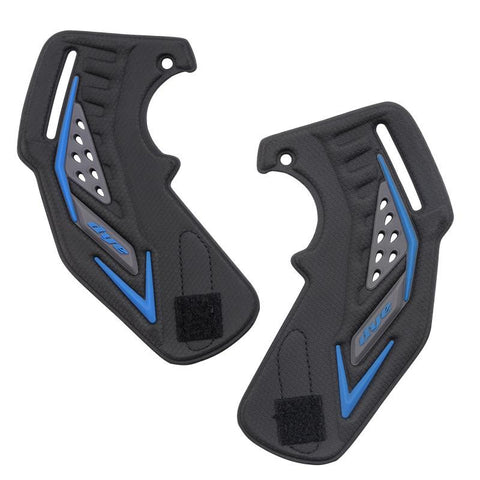 Dye i5 Paintball Goggle / Mask Replacement Ear Piece Black/Blue (Pair) - DYE