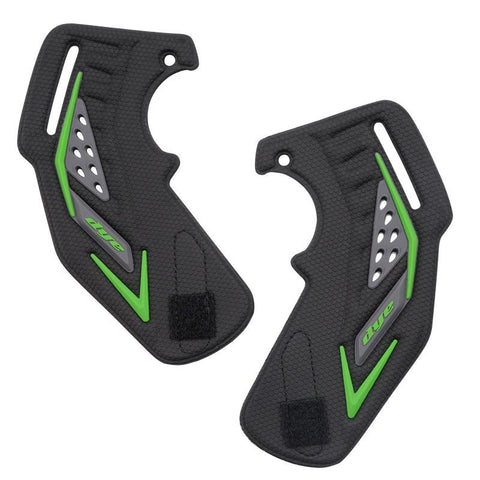 Dye i5 Paintball Goggle / Mask Replacement Ear Piece Black/Green (Pair) - DYE