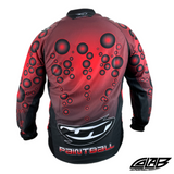 JT Paintball Bubble Jersey - Red - Medium - JT
