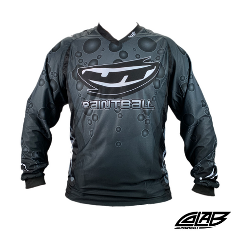 JT Paintball Bubble Jersey - Dark Grey - Large - JT