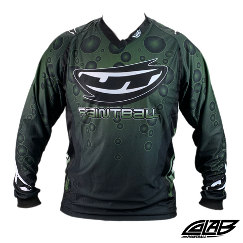 JT Paintball Bubble Jersey - Olive - Small - JT