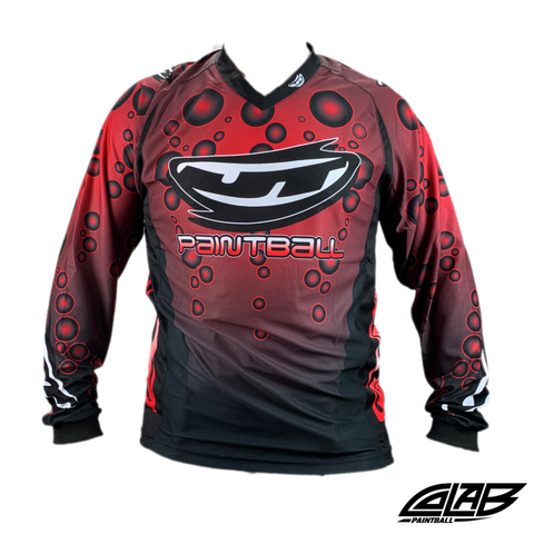 JT Paintball Bubble Jersey - Red - 2XL