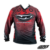 JT Paintball Bubble Jersey - Red - XL - JT