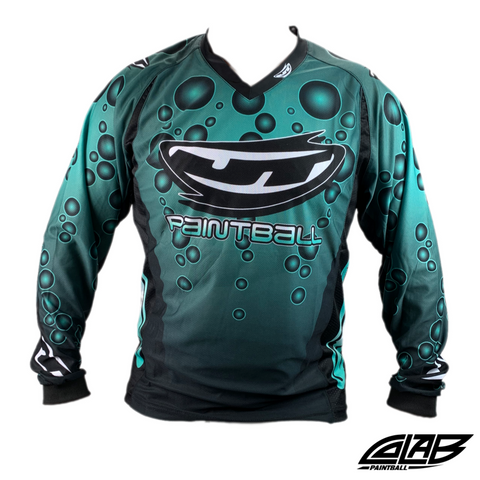 JT Paintball Bubble Jersey - Teal - XL - JT