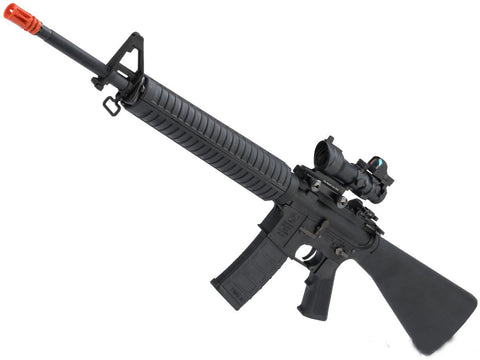EMG Colt Licensed M16A3 Airsoft AEG Rifle - Black - Evike
