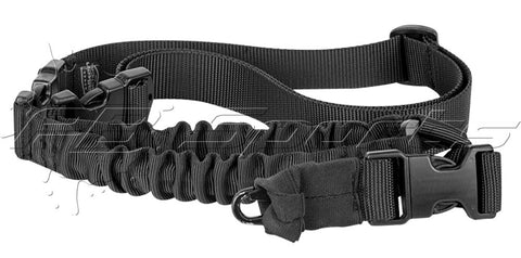 Valken V-TAC Kilo Single Point Bungee Sling - Black - Valken Paintball