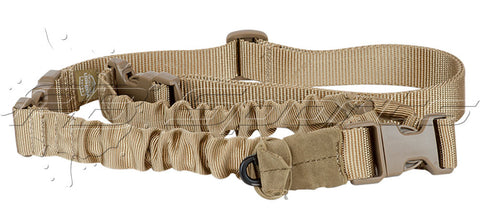 Valken V-TAC Kilo Single Point Bungee Sling - Tan - Valken Paintball