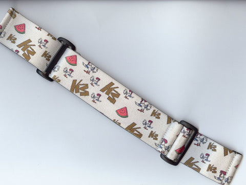 KM Strap - Chicken, Watermelon, & Waffles - Limited Edition - White - KM
