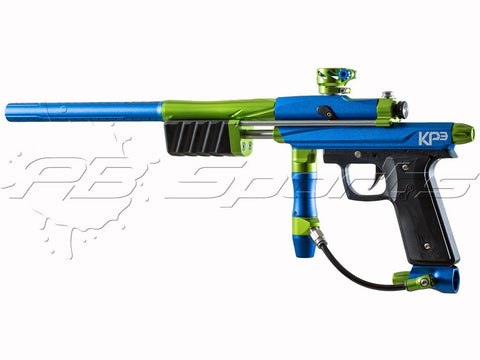 Special Edition - Azodin Kaos KP III (KP3) Pump Gun - Blue and Green - Azodin