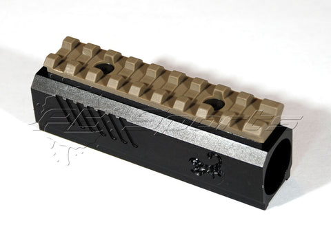 Lapco Front Block with Picatinny Rail for the Tippmann TiPX - FDE