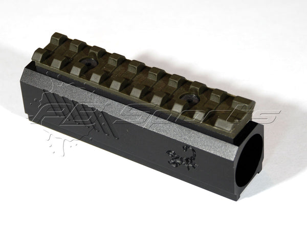 Lapco Front Block with Picatinny Rail for the Tippmann TiPX