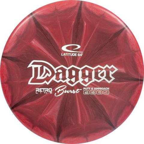 Latitude 64 Retro Burst Dagger Disc
