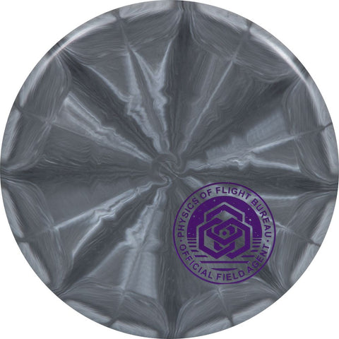 Latitude 64 Zero Medium Burst Pure Disc - Field Agent Corner HSCo Stamp