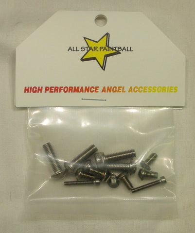 Angel LCD stainless steel screw kit - Angel Paintball Sports