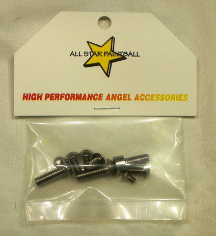 Angel LED stainless steel screw kit - Angel Paintball Sports