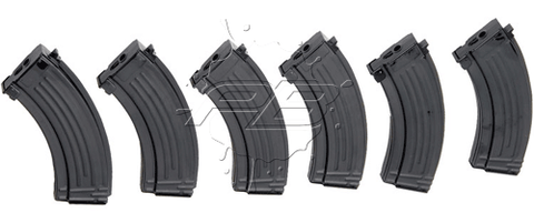 Classic Army CA Airsoft Magazine Metal Mid Capacity 150 Round for AK AEG SIX PACK