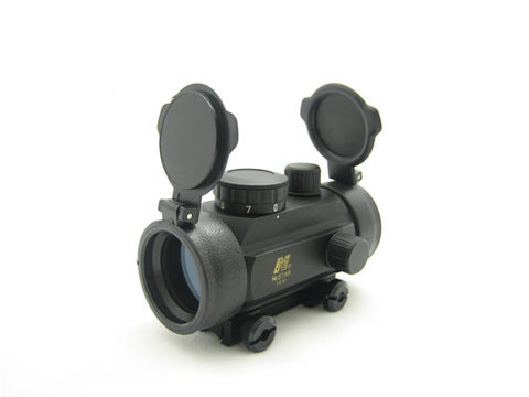 "NcSTAR Red Dot Sight 1x30 B-Style Red Dot 3/8"" Dovetail base"