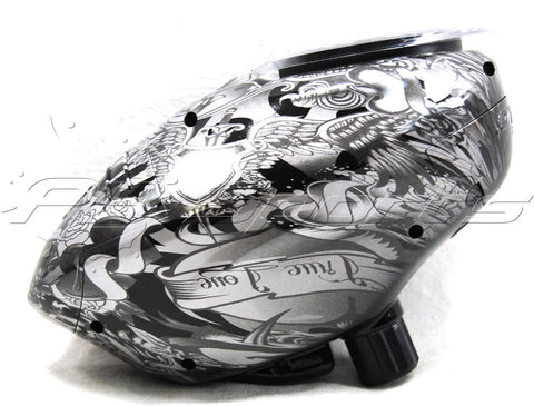 Pinokio Speed Hopper - Silver Dragon - Silver/Black