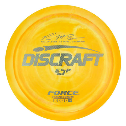 Discraft Paul McBeth ESP Force Singature Series Golf Disc - Discraft