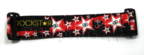 KM Strap - Rockstar Energy - Punched Zero Red - KM