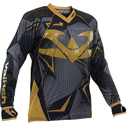 Valken Redemption Jersey - Black/Gold - 2XL
