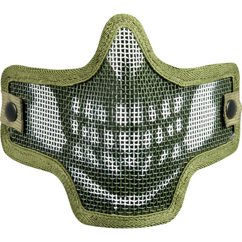 Valken Tactical Kilo 2G Wire Mesh Airsoft Mask Skull - Olive - Valken Paintball