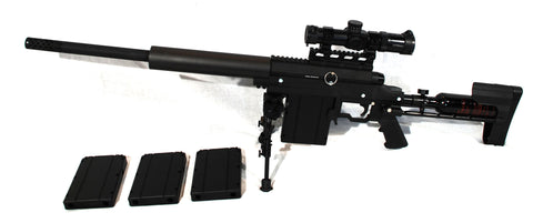 Carmatech Engineering SAR12C Sniper Rifle Kit w/ Supremacy Scope Left - Lightweight
