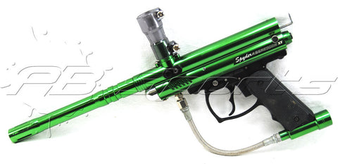 Used Spyder Aggressor XT - Gloss Green - Spyder
