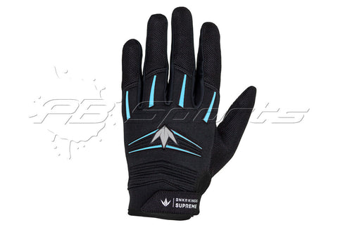 Bunker Kings Supreme Gloves Cyan Small/Medium