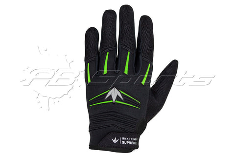 Bunker Kings Supreme Gloves Lime Small/Medium