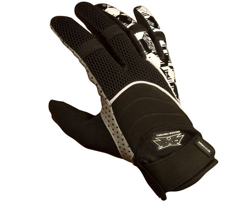 Draxxus DXS Shank Paintball Gloves - Houndstooth - XL