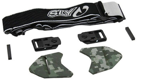 Sly Profit Strap Kit - White - Digital Camo