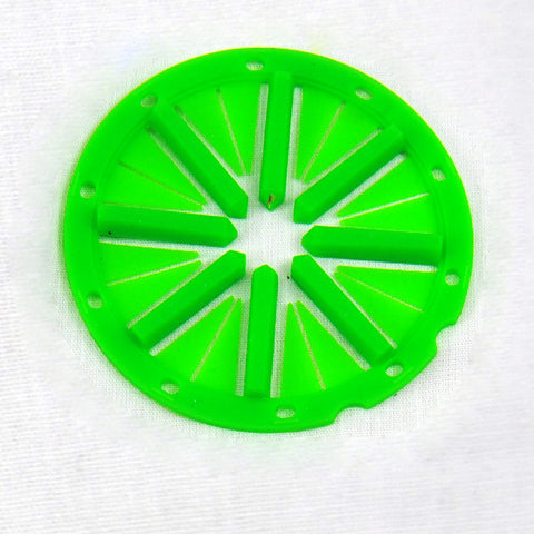 KM Spine Speed Feed Rotor - Lime - KM