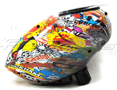 Pinokio Speed Hopper - Sticker Bomb