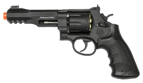 KWC Smith & Wesson M&P R8 Co2 Airsoft Revolver - Black - Elite Force