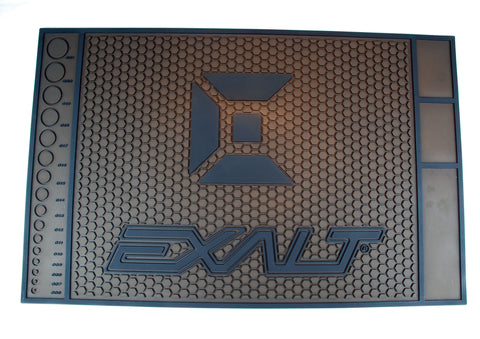 Exalt Paintball Tech Mat HD - Brown/Black - Exalt