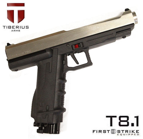 Tiberius Arms T8.1 Paintball Pistol Silver - Tiberius Arms