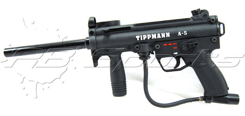 Used Tippmann A-5 w/ EGrip - Tippmann Sports