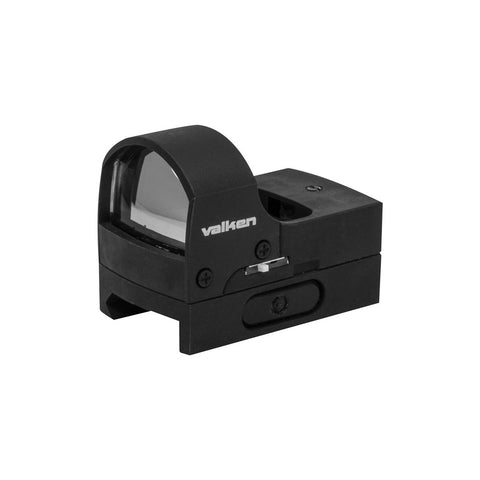 Valken Optics Mini Reflex Red Dot Molded Sight with Quick Disconnect Mount - Valken Paintball