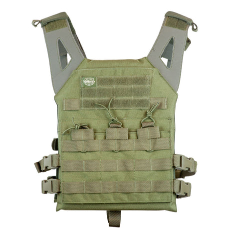 Valken Plate Carrier II Vest - Olive - Valken Paintball