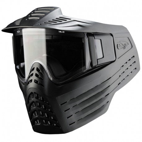 VForce Sentry Paintball Mask - Single Pane Clear Lens - Black - V-Force