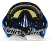 Virtue VIO Ascend Paintball Mask Goggle Steel Ice (Blue) - Virtue