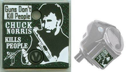 Virtue Chuck Norris Halo/Empire Power Button Backplate