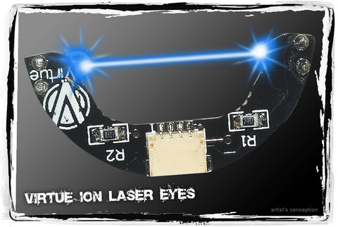 Virtue Ion, Ion XE, Epiphany, and Eos Laser Eye Board - Blue