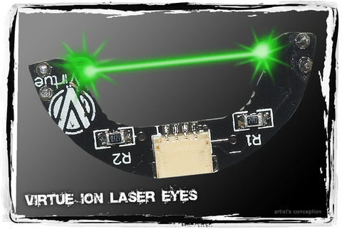 Virtue Ion, Ion XE, Epiphany, and Eos Laser Eye Board - Green