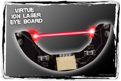 Virtue Ion, Ion XE, Epiphany, and Eos Laser Eye Board - Red